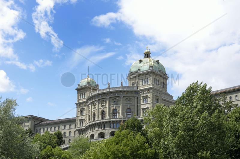 Bundeshaus in Bern,  Hauptstadt der Schweiz.