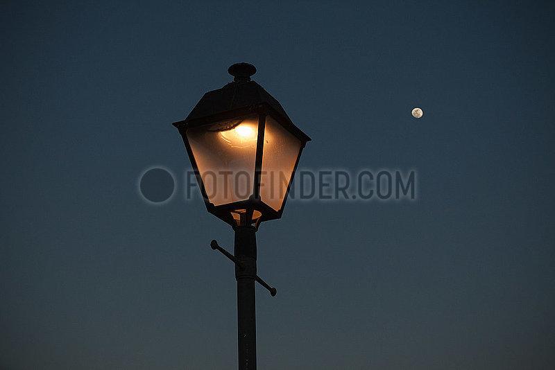 Streetlamp - Playa Blanca,  Lanzarote