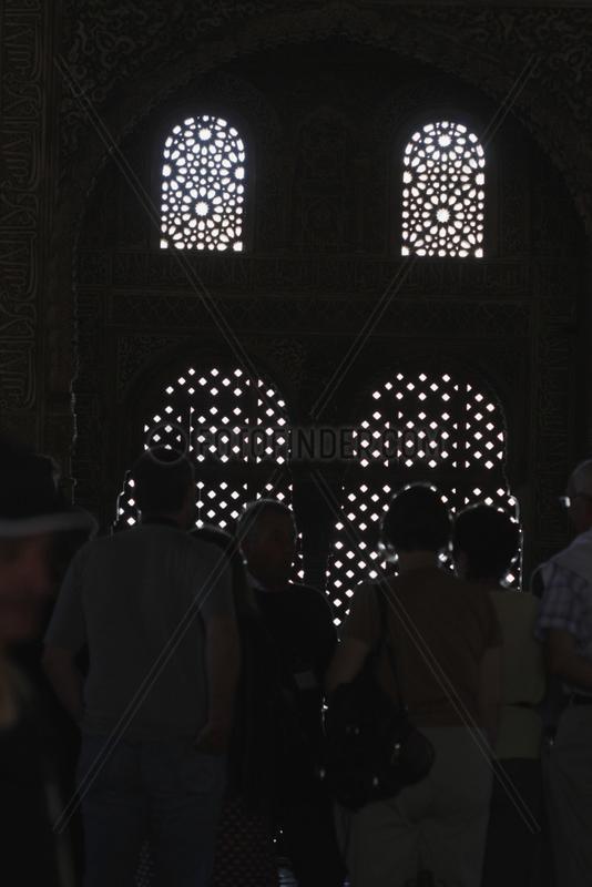 Lichtfuhrung in La Alhambra