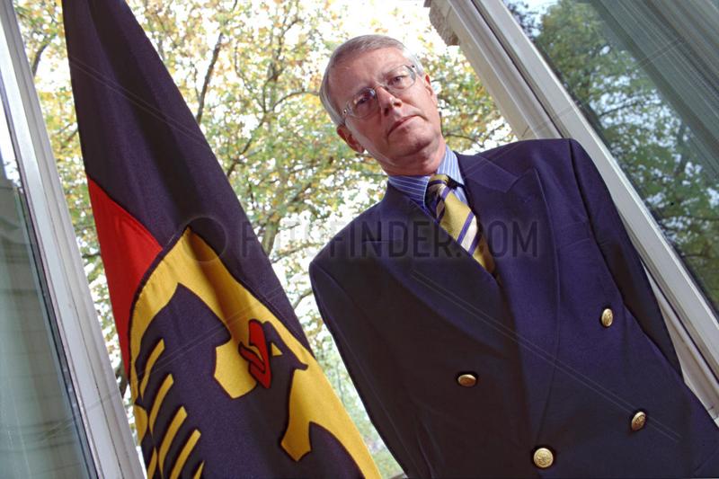 Kay Nehm,  Generalbundesanwalt,  1996