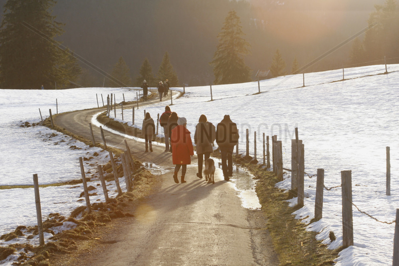 Winter Spaziergang