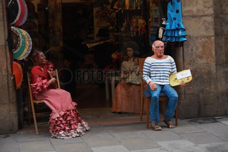 Barcelona (Spain) - Picasso in Souvenir Shop
