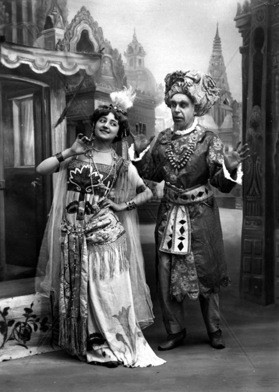 Sultan mit Frau,  1900