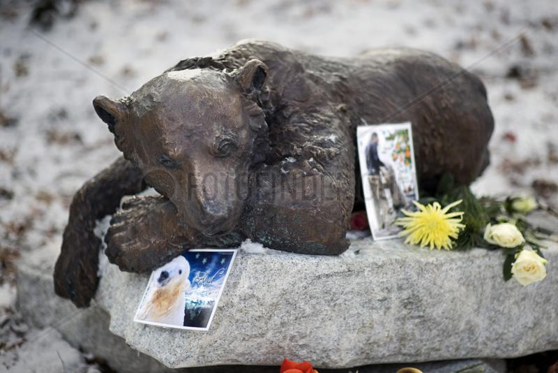 Denkmal Eisbaer Knut