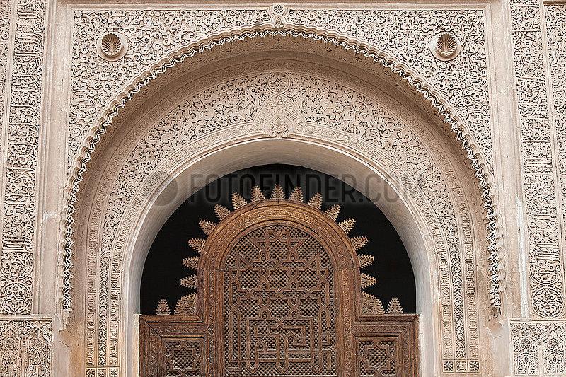 Ali Ben Youssef Madrasa,  Islamic College - Marrakesh