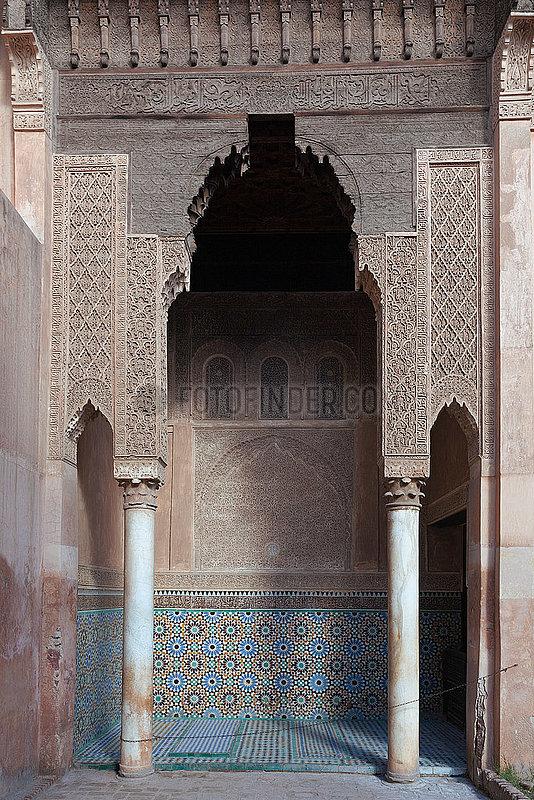 Saadian Tombs - Marrakesh