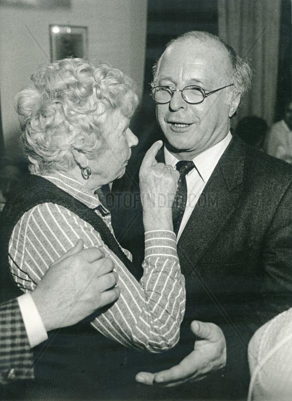 Norbert Bluem,  Bundesarbeitsminister,  1986