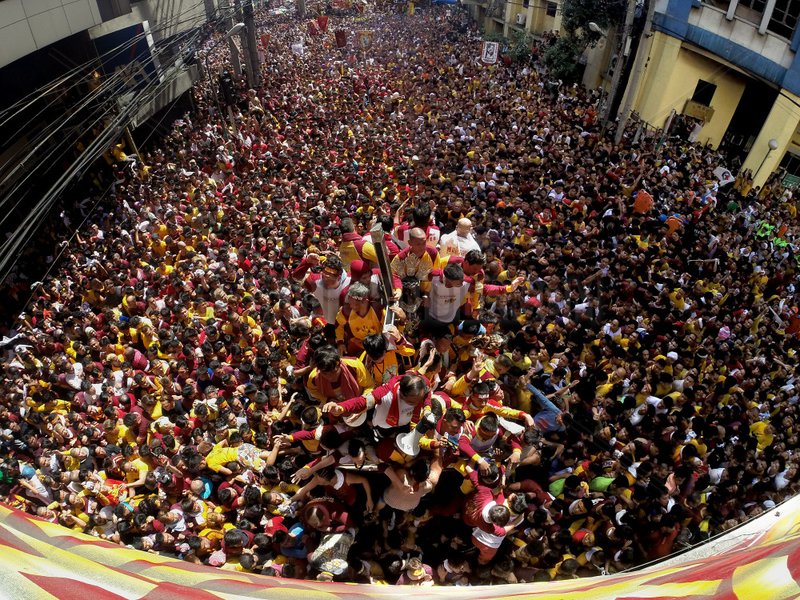 PHILIPPINES-MANILA-BLACK NAZARENE-ANNUAL FEAST