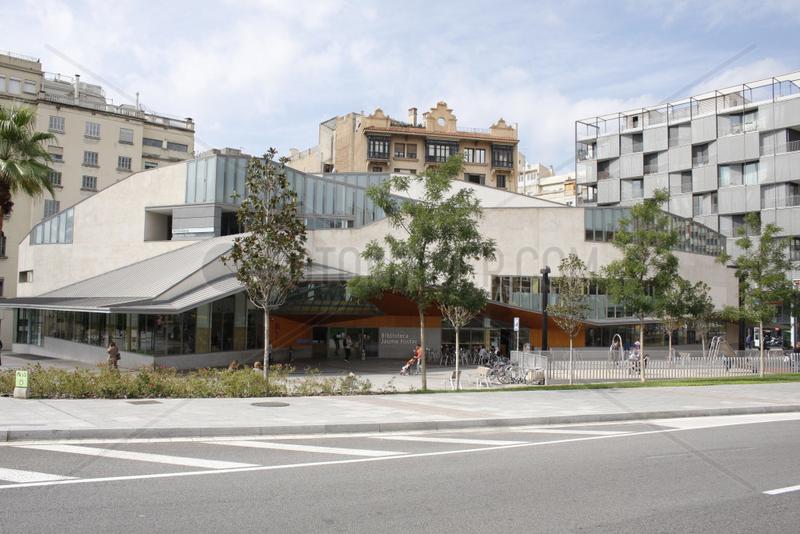 Bibliothek in Barcelona