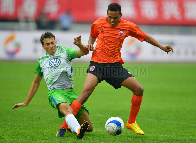 (SP)CHINA-WEIFANG-WEIFANG CUP-INTERNATIONAL YOUTH TOURNAMENT 2017-WOLFSBURG U18
