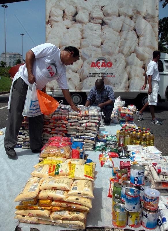 Brasilien,  Rio de Janeiro: World Food Day