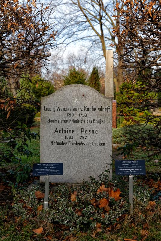 Berlin,  Deutschland,  Ehrengrab von Wenzeslaus von Knobelsdorff