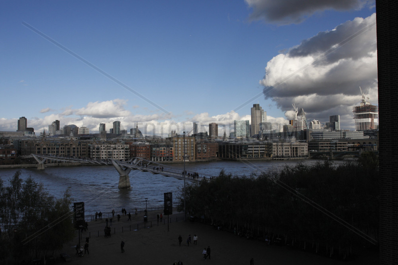 Londoner Stadtentwicklung an der Themse