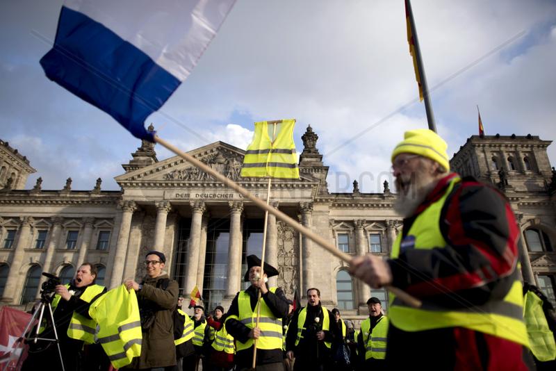 Gelbe Westen Protest,  Reichsbuerger