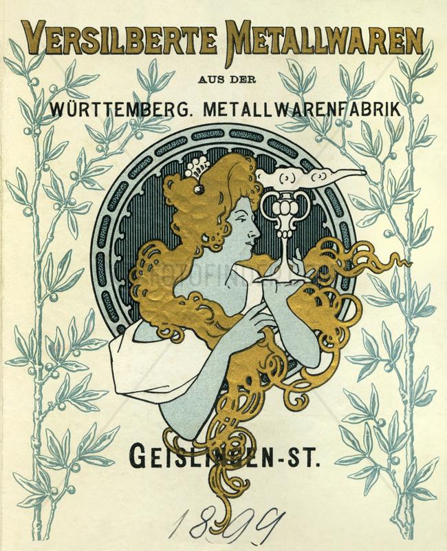 WMF,  Werbung,  1899