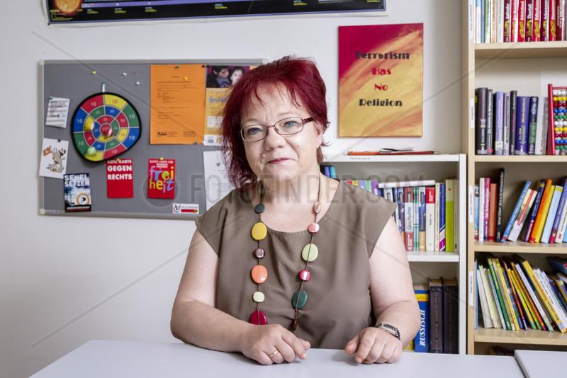 """Dorothea Moesch,  Vorsitzende des Vereins žBildung fuer Westerfilde"""""""