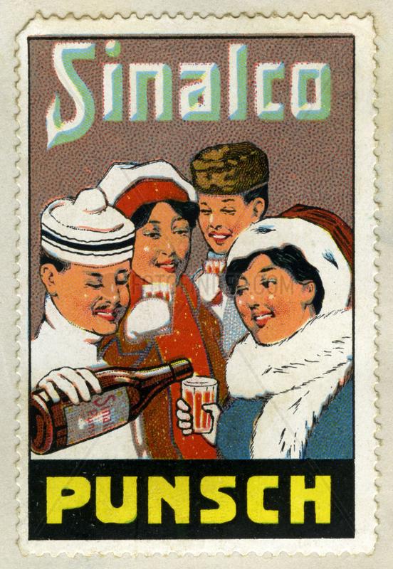 Sinalco Punsch,  Werbung,  1913