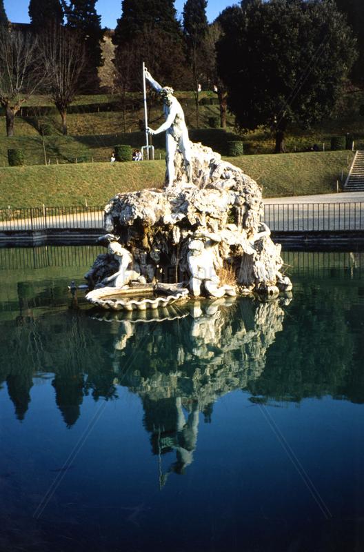 Skulptur in den Boboli G__rten
