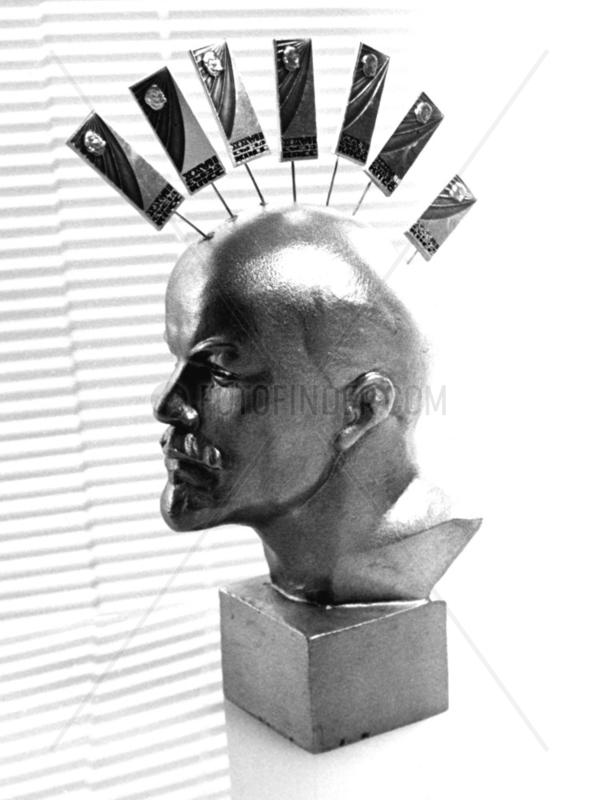 Lenin als Punk