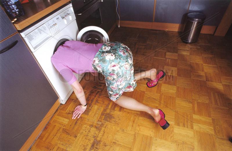 Frau Waschmaschine suchen