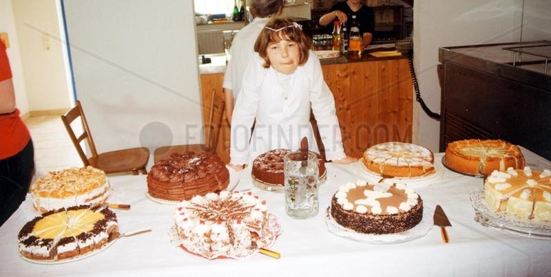 Kind Kommunion Kuchen