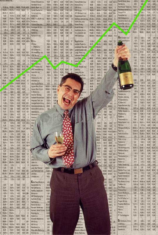 Geld Boerse steigende Aktien erfolgreich