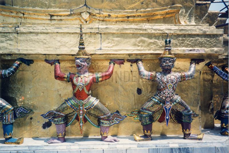 Thailand,  Bangkok,  Wat Phra Kaeo