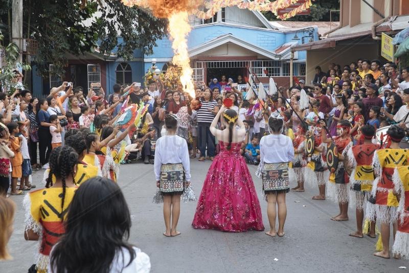 St.Nino Festival zu Ehren des kleinen Jesuskindes