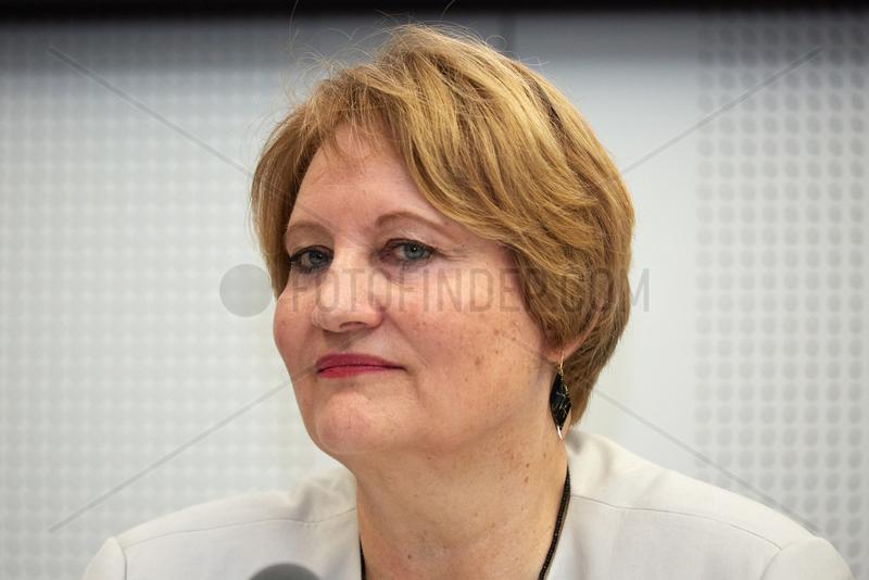 Berlin,  Deutschland,  Christa Stolle,  Bundesgeschaeftsfuehrerin von Terre des Femmes