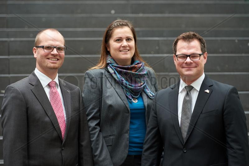 Berlin,  Deutschland,  Jens Famula,  Christiane von Roda und Christian Harms,  dm-drogerie markt