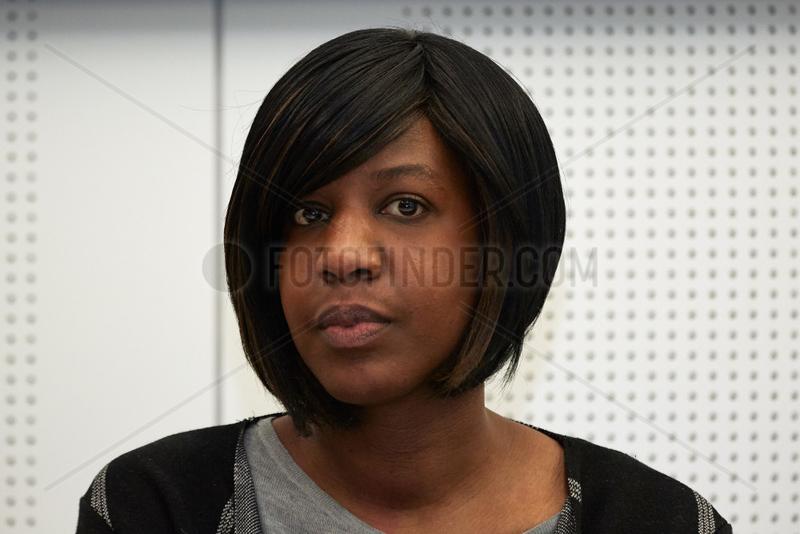 Berlin,  Deutschland,  Tiranke Diallo,  Leiterin des Vereins Mama Afrika