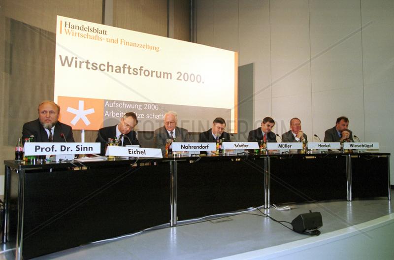 Wirtschaftsforum 2000