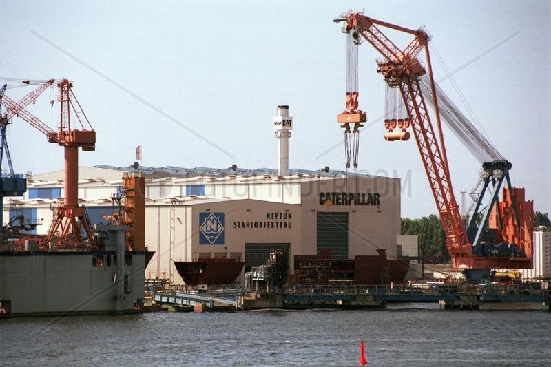 Rostock,  Deutschland,  Werftgelaende