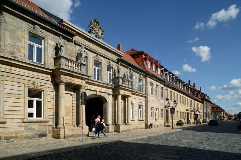 Bayreuth,  Deutschland,  der Ellrodtsche Gartenportikus in der Friedrichstrasse