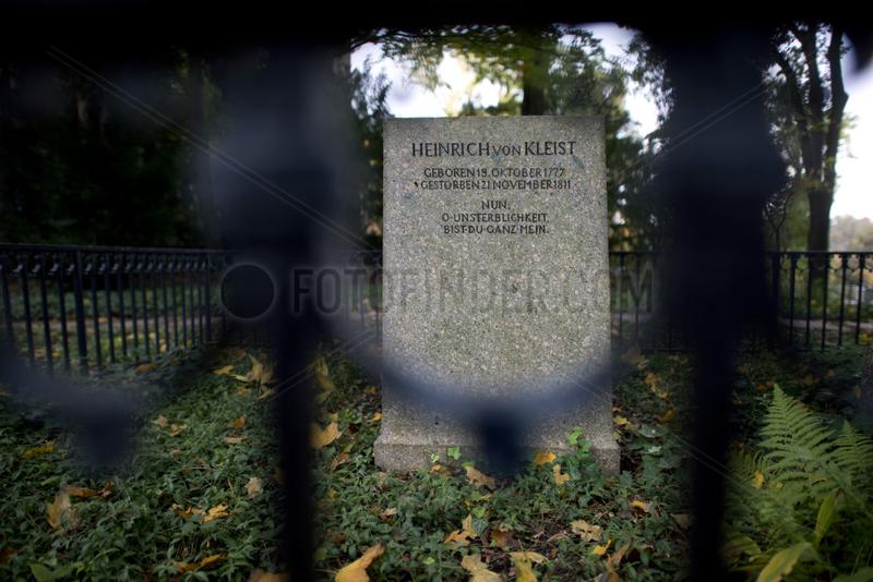 Grab Heinrich von Kleist