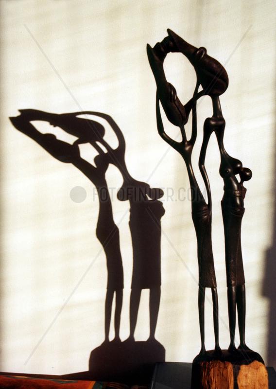 Makonde Afrikanische Skulptur Kunst