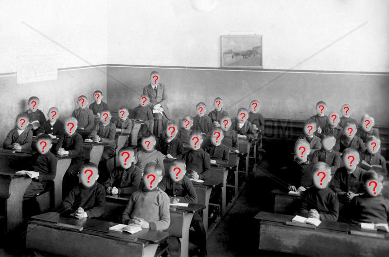 Schulklasse,  alle Jungen,  ca. 1920