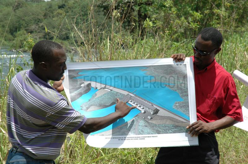 Uganda,  Wasserkraft-Projekt