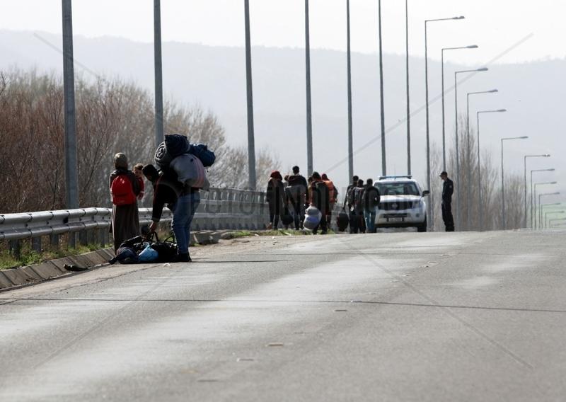 Fluechtlinge auf der Balkanroute