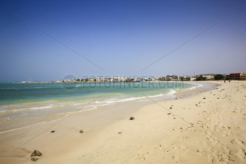 Stadtstrand,  Praia do Estoril,  Sal Rei,  Boa Vista,  Kapverden