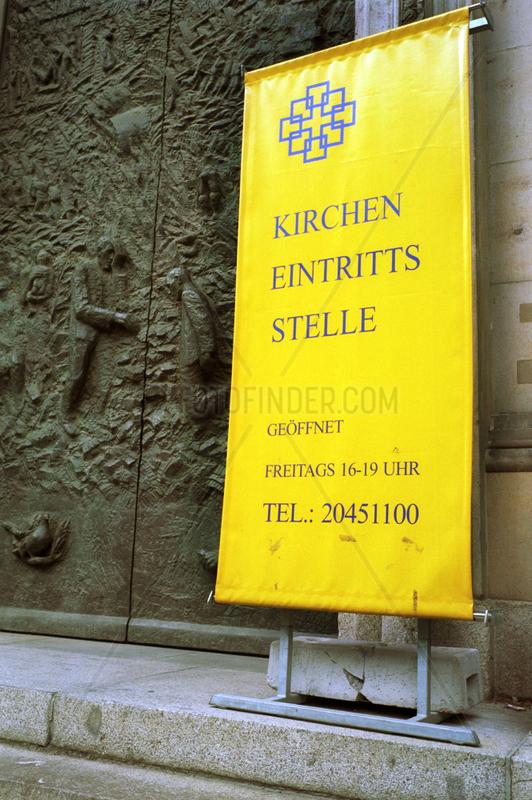 Berlin,  Kircheneintrittsstelle Berliner Dom