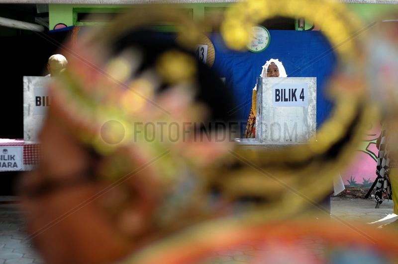 INDONESIA-YOGYAKARTA-GENERAL ELECTION