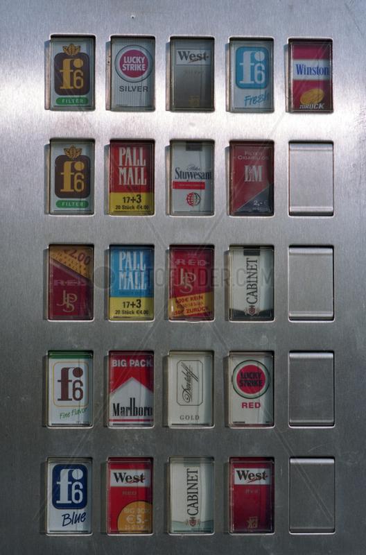 Zigarettenautomat in Ostdeutschland