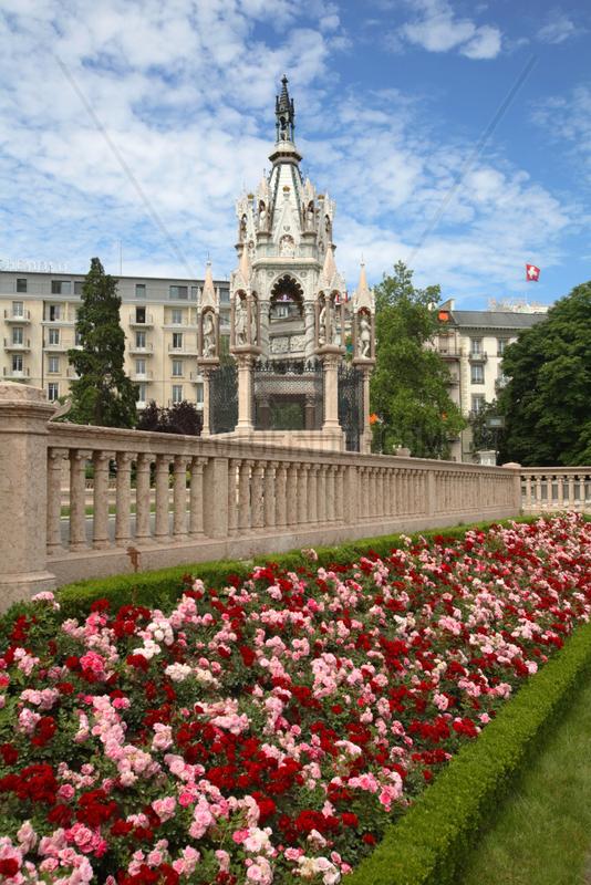 Schweiz,  Genf,  Brunswick Monument