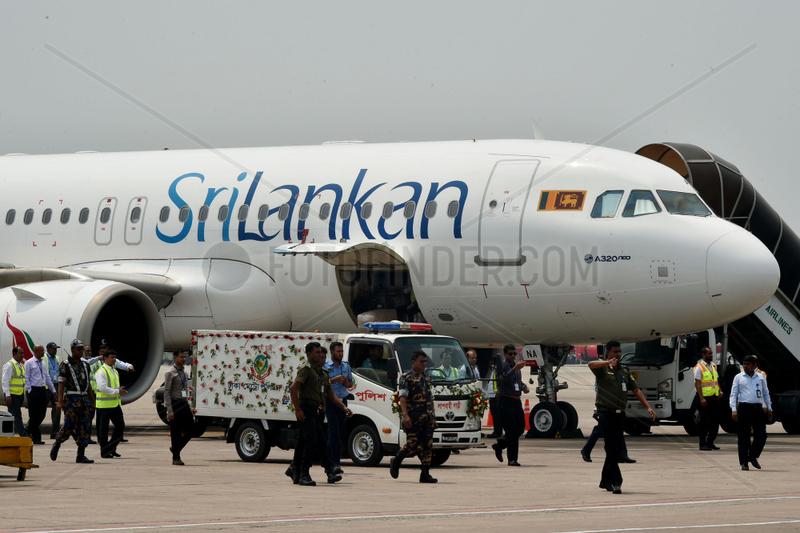 BANGLADESH-DHAKA-SRI LANKA-ATTACKS-VICTIM