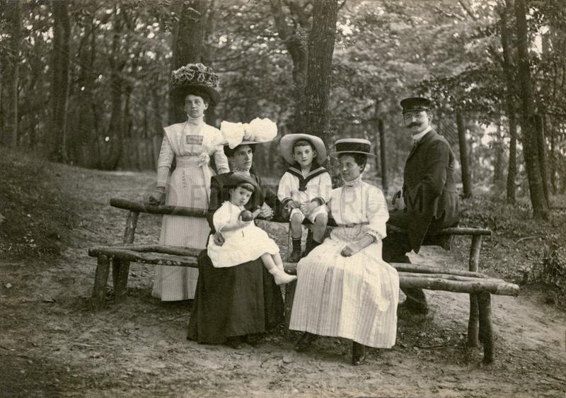 Familienfoto,  Urlaub in Binz,  Ruegen,  1909