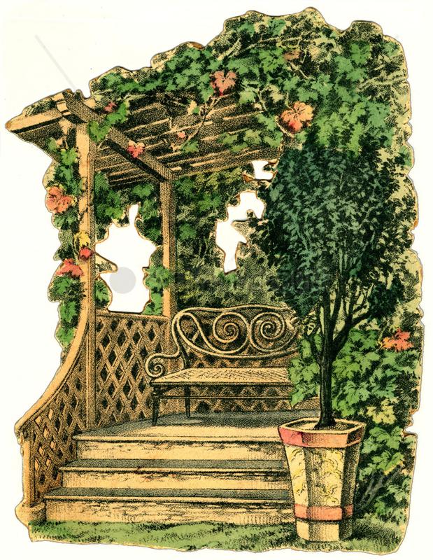 Gartenlaube,  um 1910