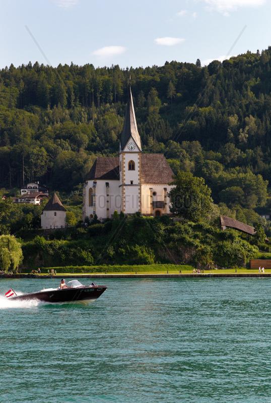 Maria Woerth,  Oesterreich,  Pfarr- und ehemalige Stiftskirche Hl. Primus und Felician