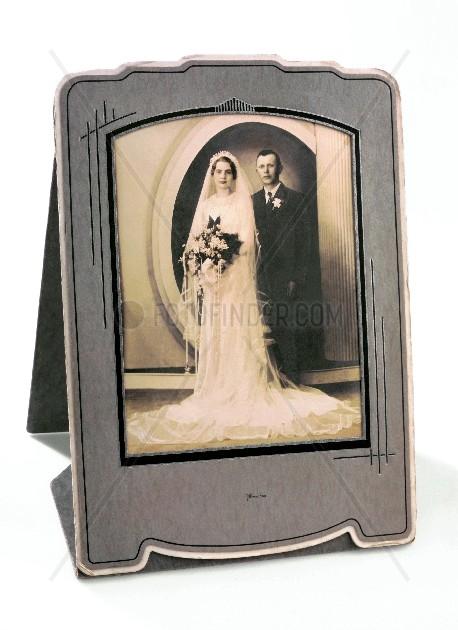 altes amerikanisches Hochzeitsfoto