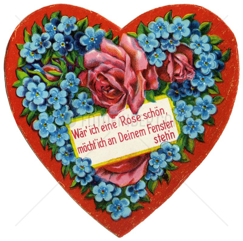 Herz,  Liebessymbol,  1912